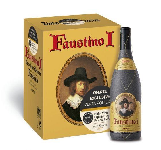 Caja 6 Faustino I. Rioja Gran Reserva 2009