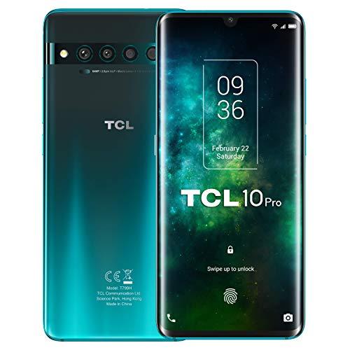 "TCL 10 Pro - Smartphone de 6.53"" FHD+ con NXTVISION (Qualcomm 675 4G, 6GB/128GB)"