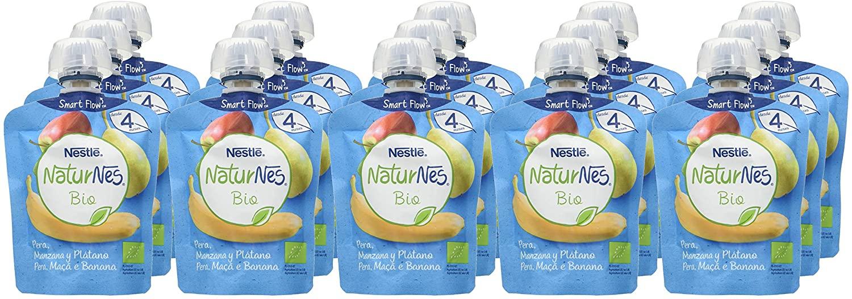 16x Nestle Bio puré frutas solo 7.6€