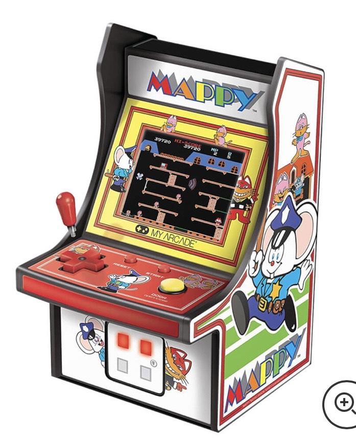 DreamGear Retro Arcade 6 Inch Mappy Micro Player