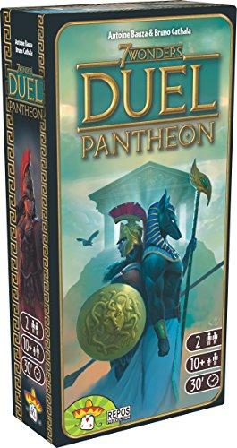 Juego de Mesa Seven Wonder Duel Panteon (expasión)
