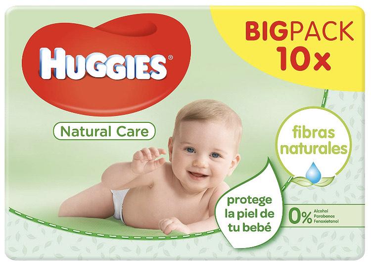 10 paquetes toallitas Huggies ( compra recurrente)