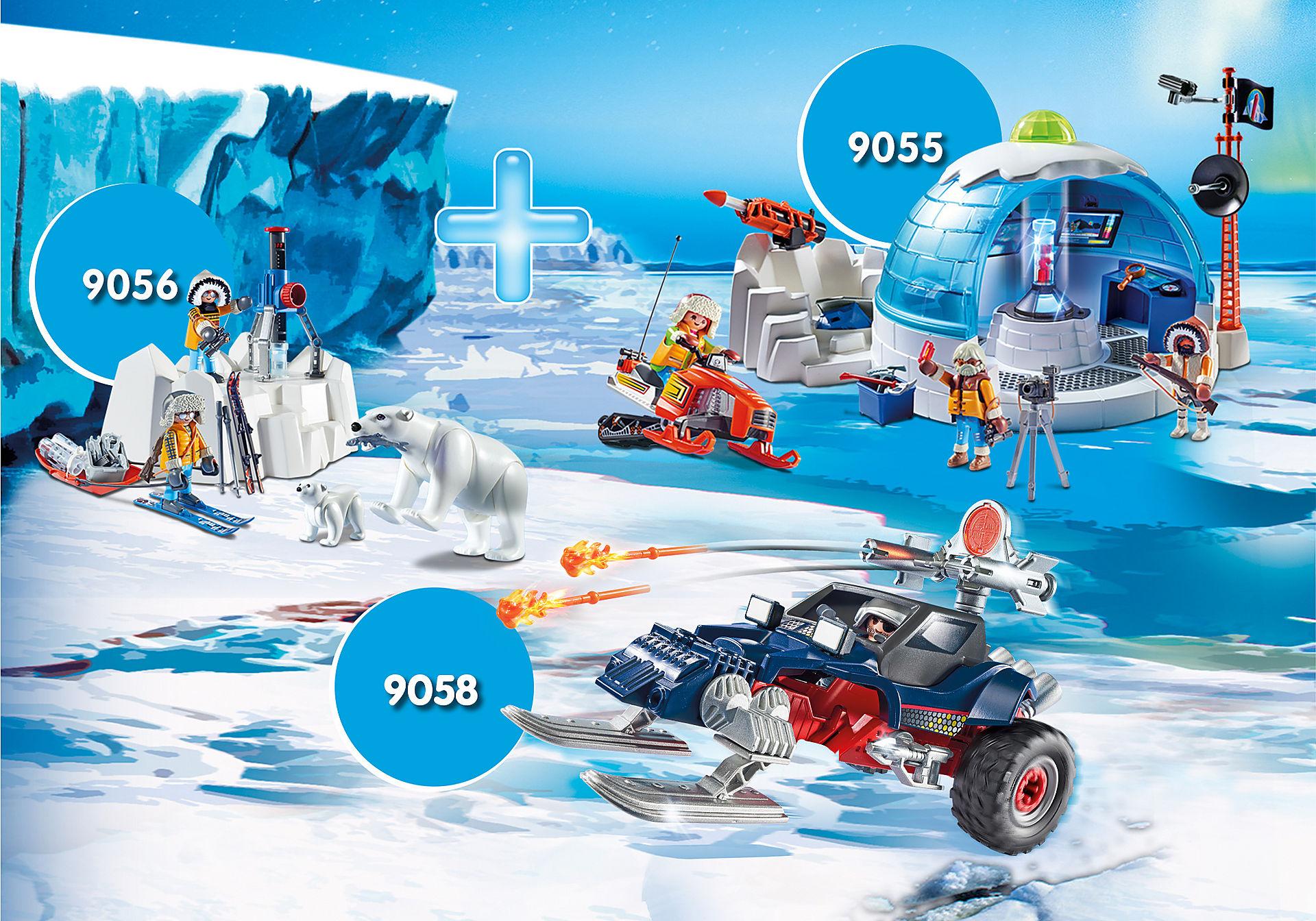 """Lote exclusivo con tres packs """"Expedición Polar"""""""