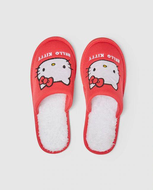 Zapatillas de casa Hello Kitty (N. 36,38 y 40)