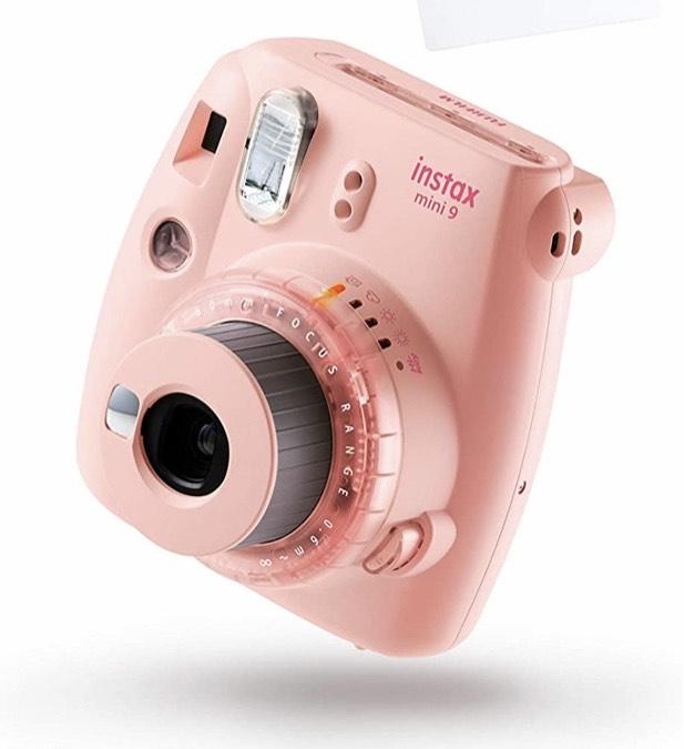 Cámara instantánea Fujifilm Instax mini 9, color rosa