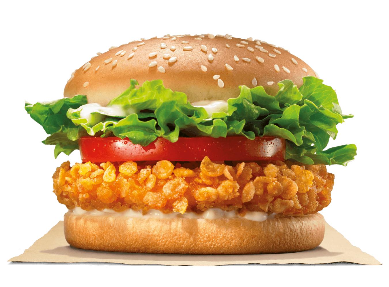 Crispy Chicken gratis en pedidos a domicilio en Burger King en casa (válido en la Comunidad Valenciana)