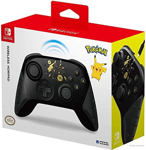 HORI - Mando inalámbrico HORIPAD Pikachu (Nintendo Switch)
