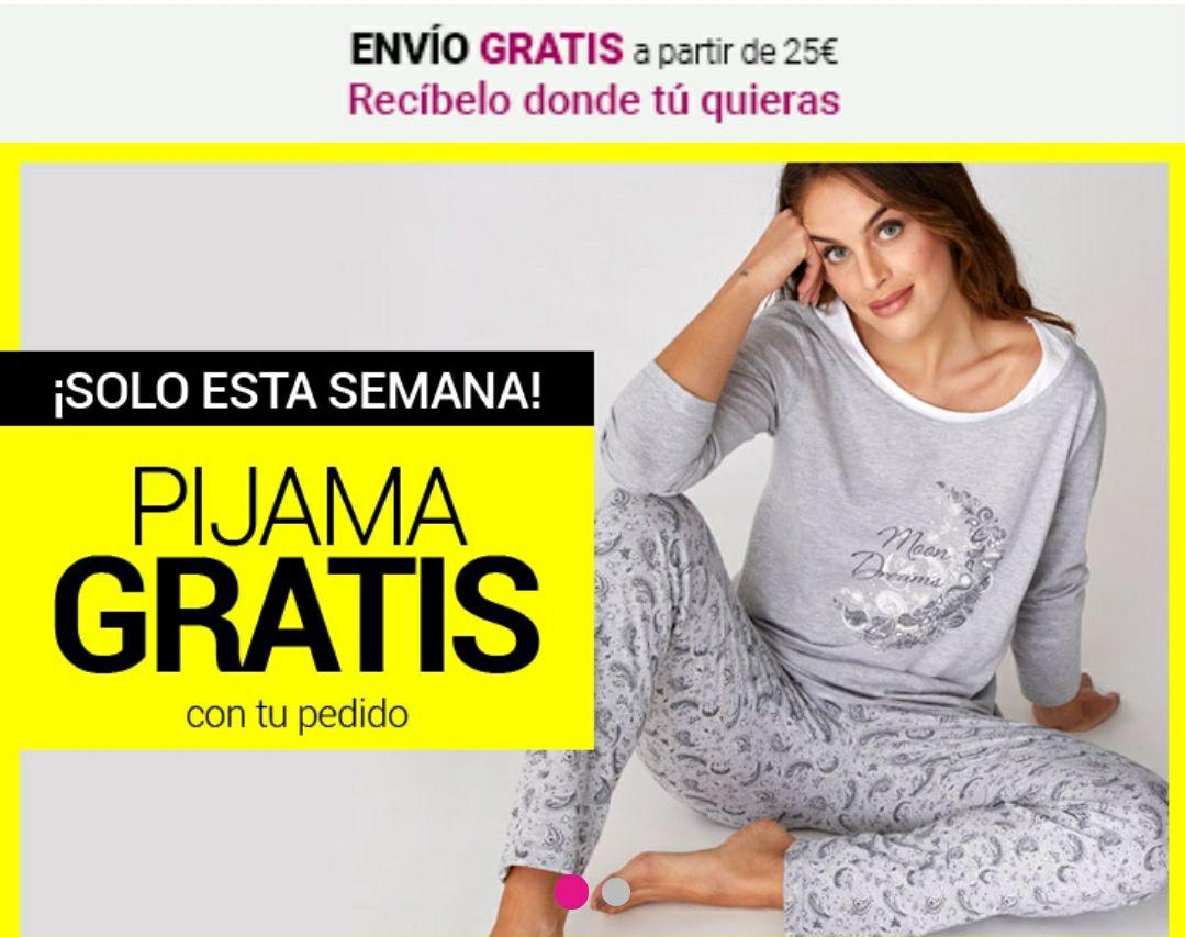 Pijama completamente GRATIS(si tu pedido es te 21€ o más) PJ130