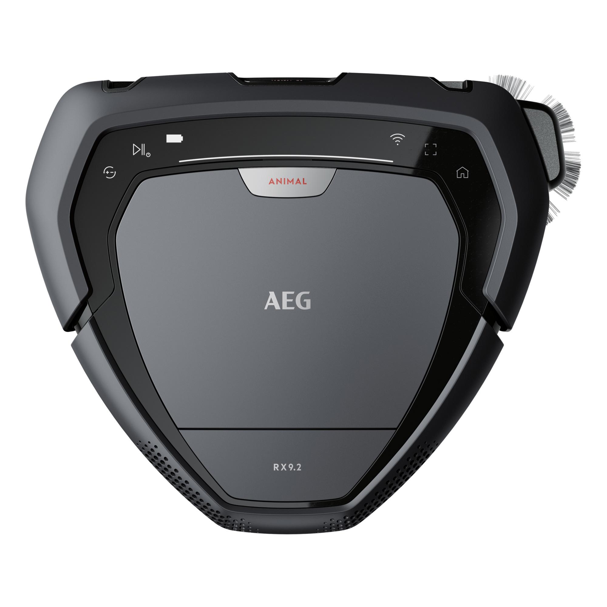 AEG Robot aspirador sin bolsa - 3 velocidades - Autonomía hasta 40min - 650 W - Depósito 0.7 L