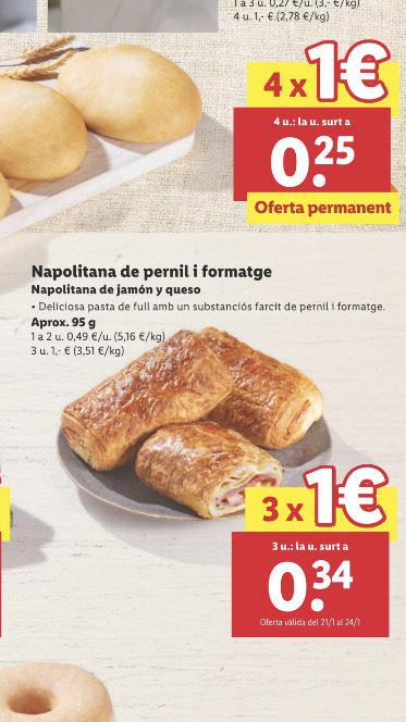Ofertitas ricas de Lidl a 1€