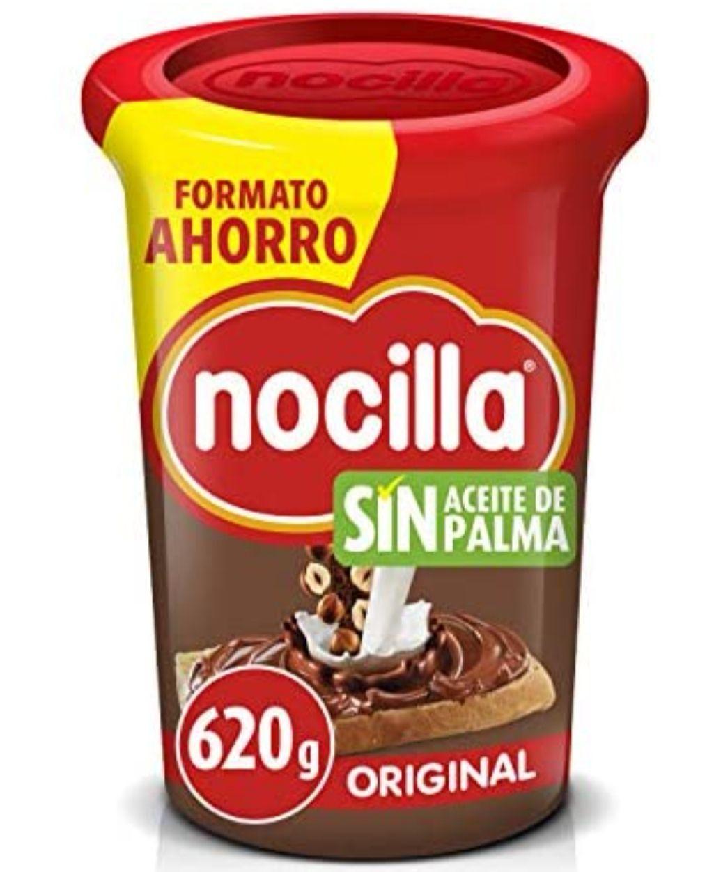 Nocilla Original-Sin Aceite de Palma: Crema de Cacao 620g