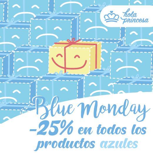 -25% en productos azules