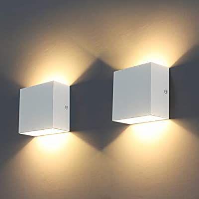 Luces de pared LED, 2 piezas