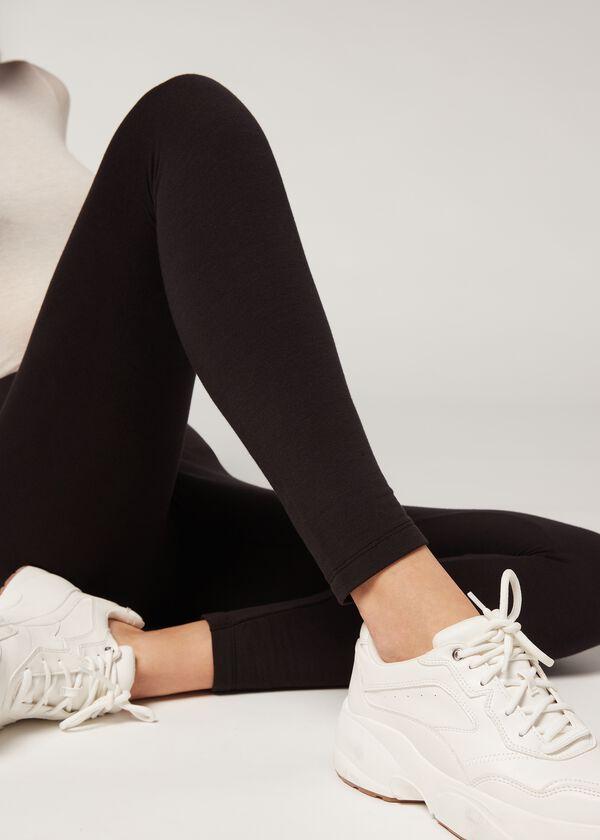 Leggings de modal y cashmere Calzedonia