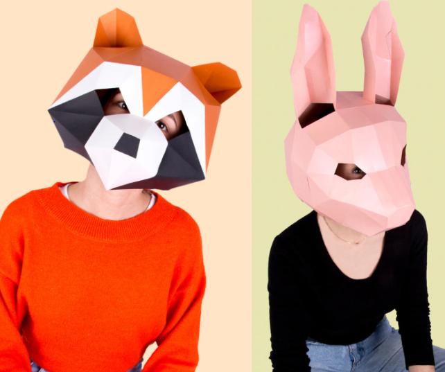 Máscaras 3D varios modelos solo 2.9€
