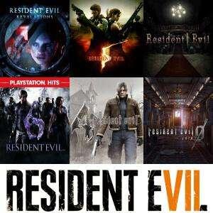 "XBOX :: -80% Saga ""RESIDENT EVIL"" (Juegos, DLC)"