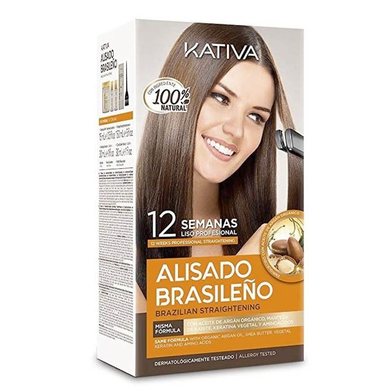 Alisado Brasileño Kativa por sólo 8,79€
