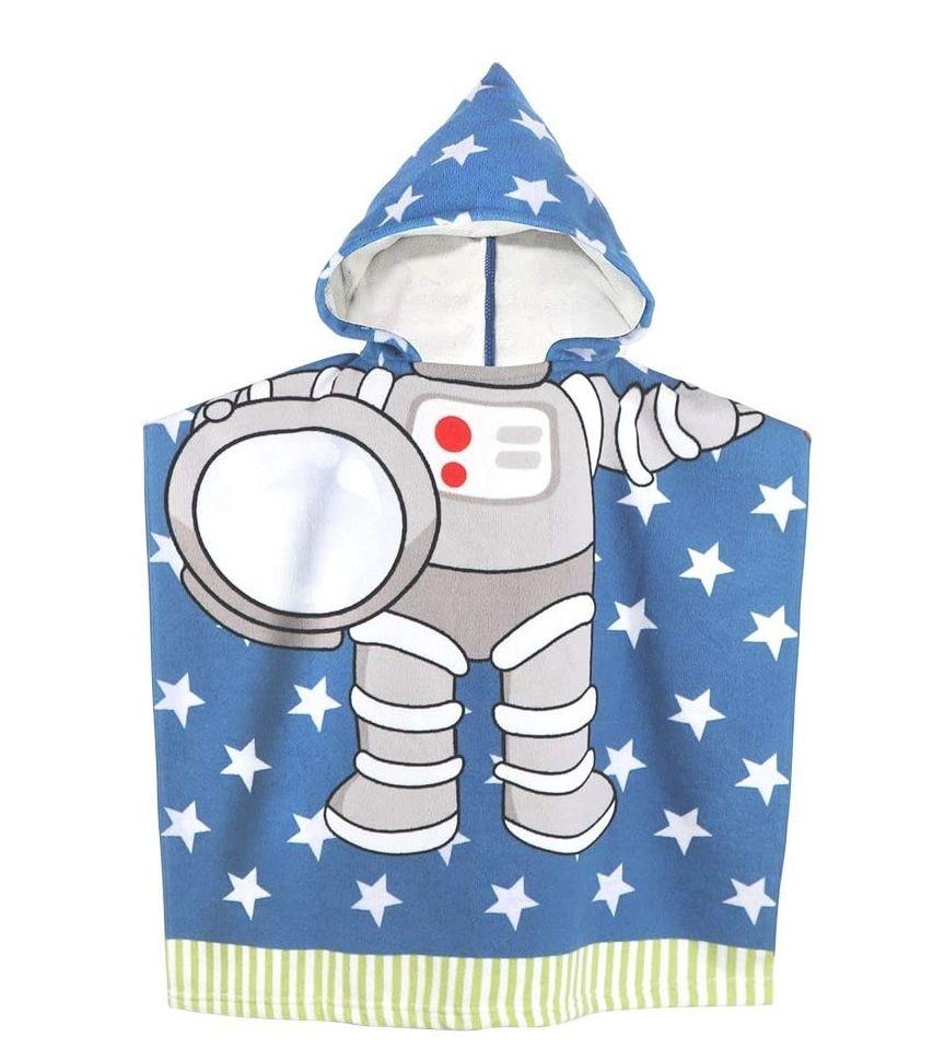 Toalla de microfibras con capucha,para niñ@s de 1a6 años