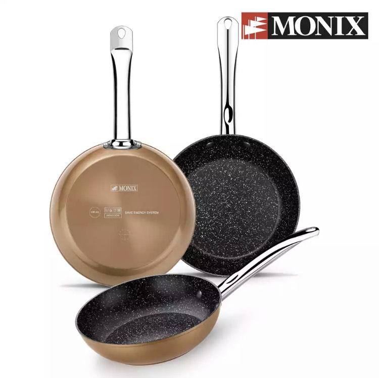 Juego sartenes Monix Copper