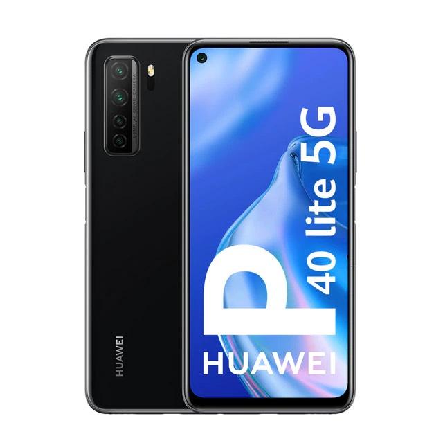 Huawei P40 Lite (5G) 6 GB + 128 GB, Negro, Libre