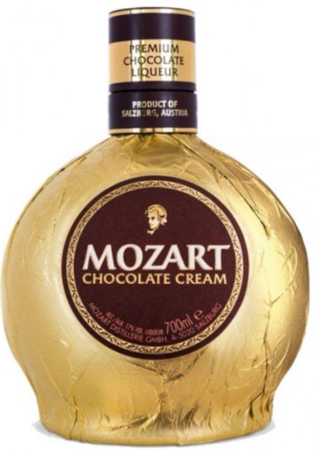 Mozart Licor crema de chocolate 700ml.