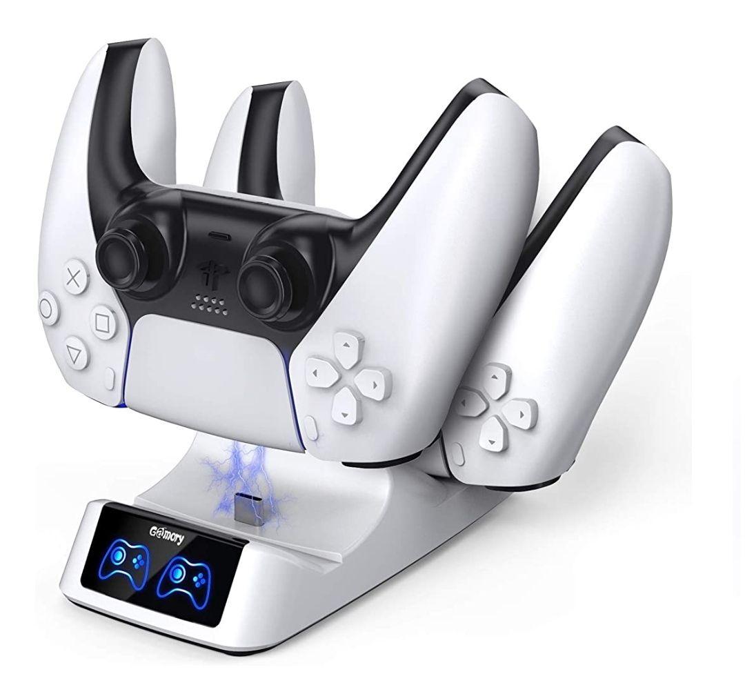 Base de Carga para Playstation 5 Protección Inteligente Doble Carga