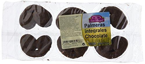 Pack de 12 paquetes, de Palmeras Integrales con Chocolate San Diego, 200 gr unidad.