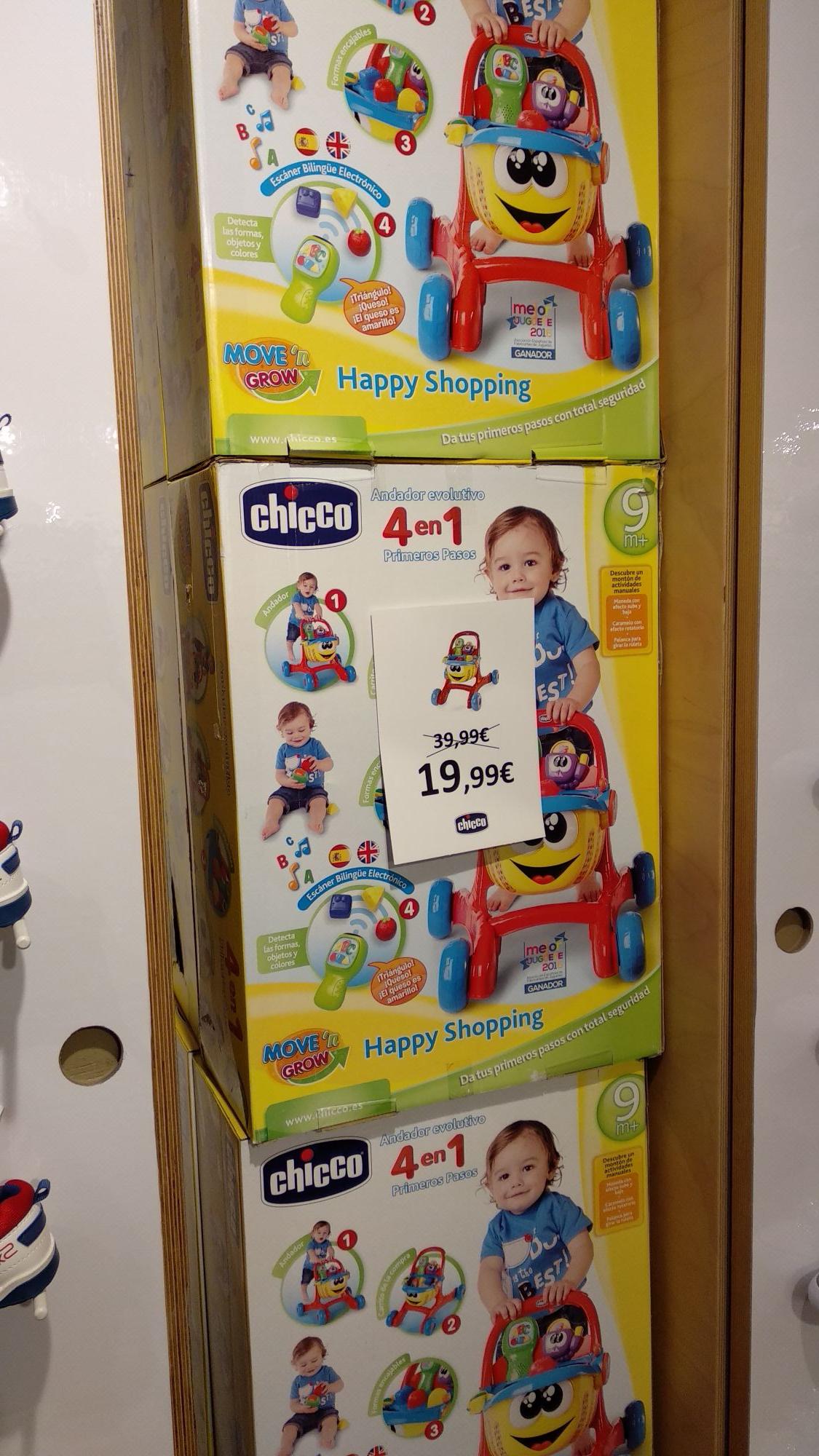 Ofertas tienda outlet Chicco del Sambil Madrid