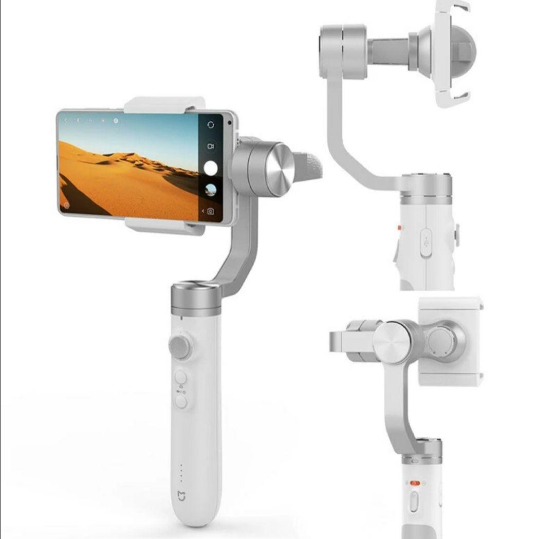 Xiaomi Mijia SJYT01FM Estabilizador de cardán de mano de 3 ejes con batería de 5000mAh para teléfono con cámara de acción