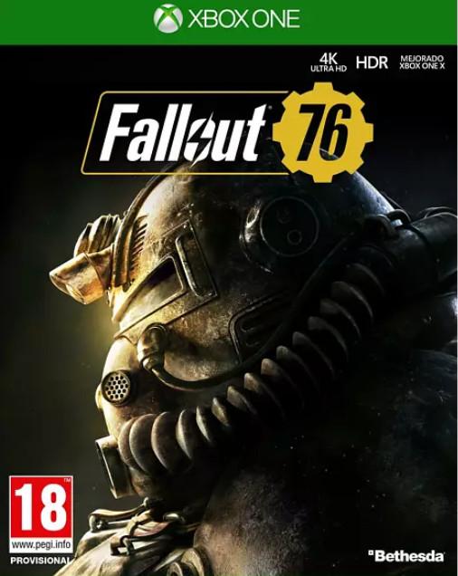 XBOX ONE: Fallout 76 (juego físico) por sólo 4,99€