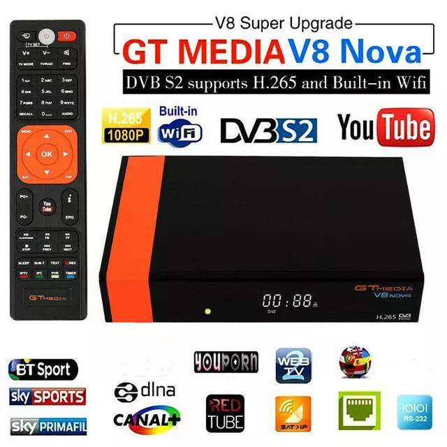 Decodificador Gtmedia V8 NOVA