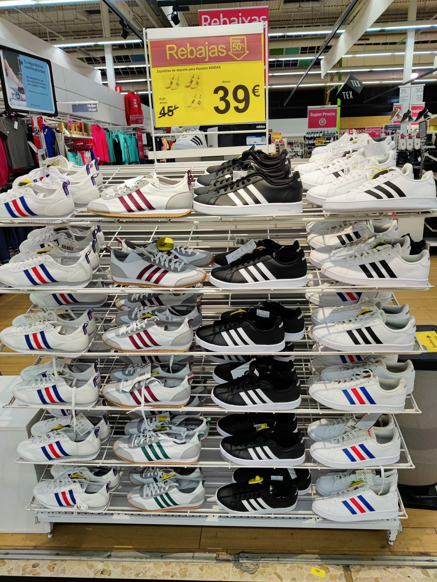 Zapatillas ADIDAS Retro Carrefour (recogida o web)
