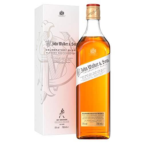 John Walker & Sons 200th Anniversary Celebratory Blend Limited Edition, Blended Scotch Whisky, con caja de regalo - 700 ml