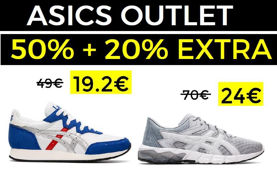 20% EXTRA en últimas tallas de Asics Outlet