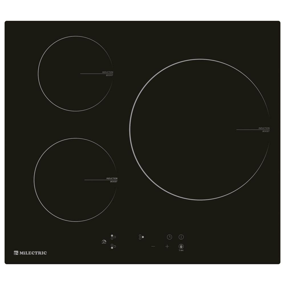 Vitrocerámica Milectric ECI-N3 3 fuegos