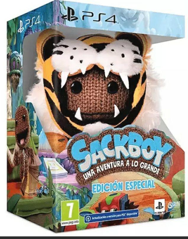 PS4 SackBoy una aventura a lo grande Ed. Especial