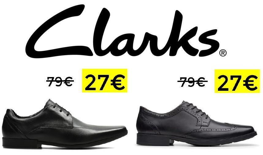 Hasta un 50% + 15% EXTRA en zapatos y botas Clarks