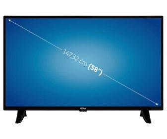 "Televisión (58"") LED SELECLINE 58S201B 4K, HDR, SMART TV, WIFI, BLUETOOTH, TDT T2, USB reproductor y grabador, 3HDMI, 120HZ."