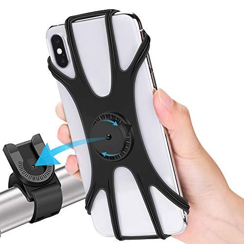 RIRGI - Soporte de teléfono móvil para bicicleta