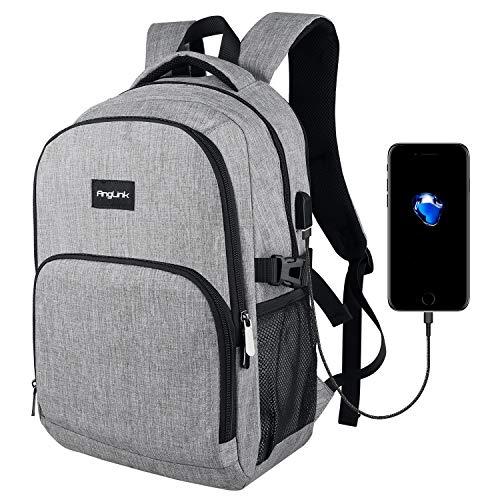 Mochila para portátil hasta 15.6 pulgadas con puerto de carga USB