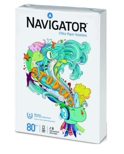 Papel multifunción A4 80 gr. Navigator. 500 folios. Oferta 3x2