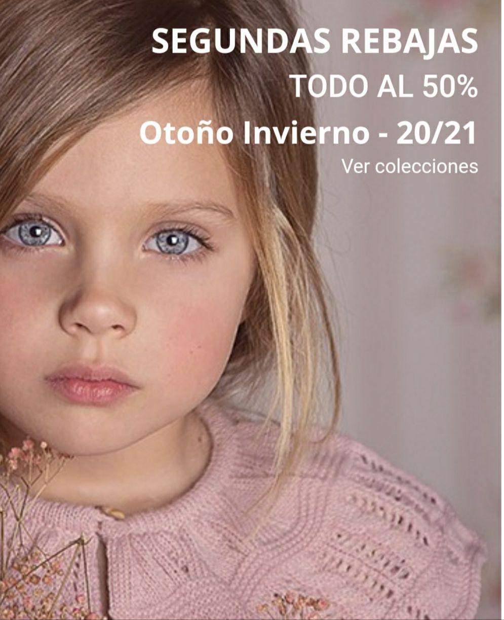 REBAJAS INFANTILES 50%