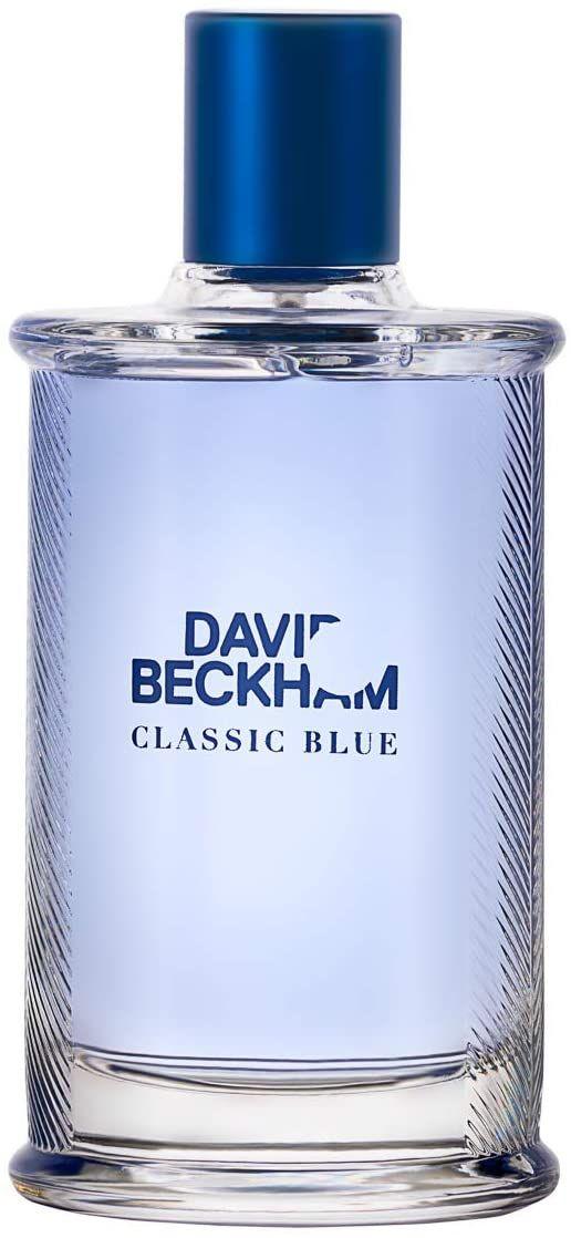 David Beckham Classic Blu hombre