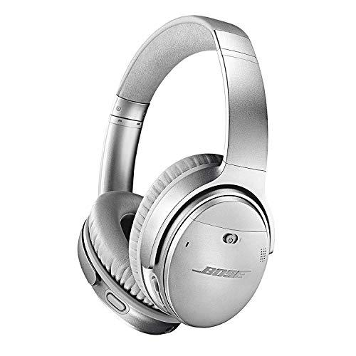 Bose QuietComfort 35 II - Auriculares inalámbricos (Bluetooth, cancelación de ruido) con Alexa integrada, Gris