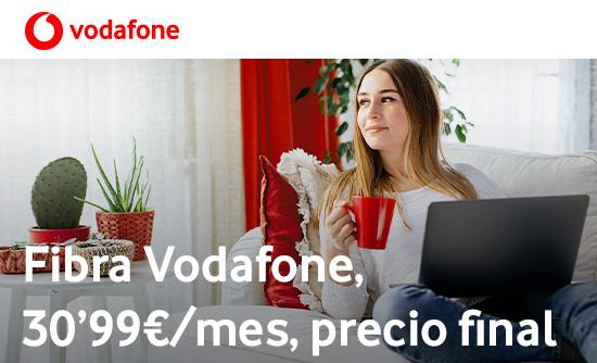 VODAFONE Conecta toda tu casa por solo 30,99€/mes.