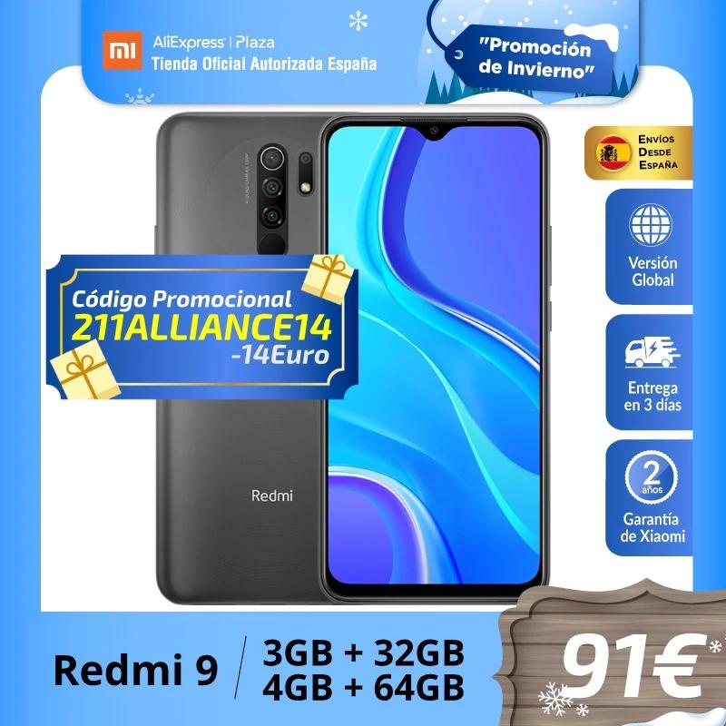 Xiaomi Redmi 9 | Global 3GB 32GB NFC (Desde España)