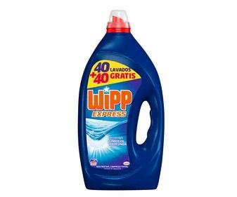Detergente en gel Azul WIPP 4 l. (80 lav) en Madrid
