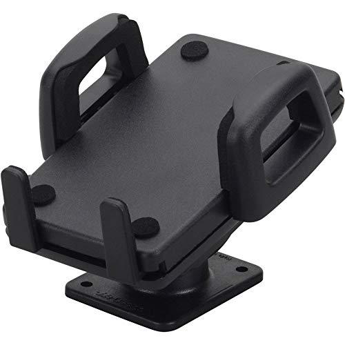 Soporte de coche (360 grados, sin vibraciones) para Smartphone, de color negro