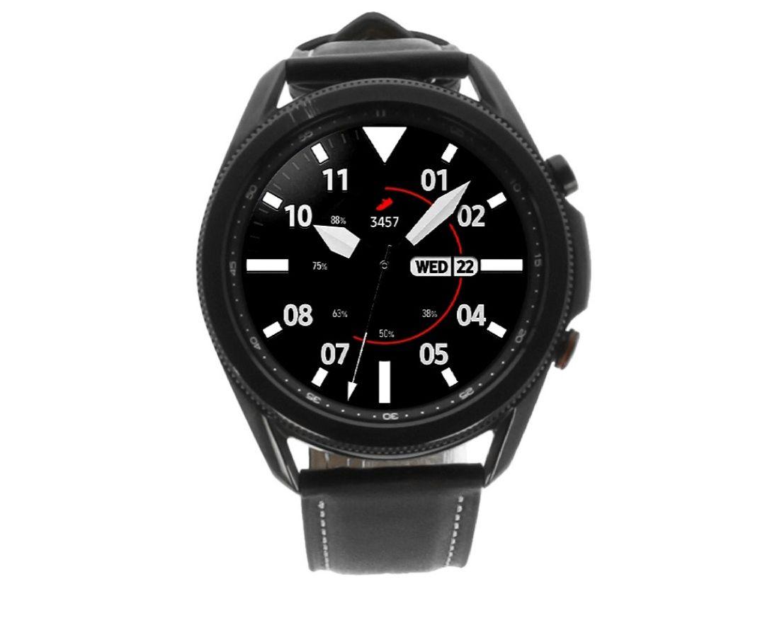 Samsung Galaxy Watch 3 LTE 4G1 acero inoxidable 45mm mystic negro