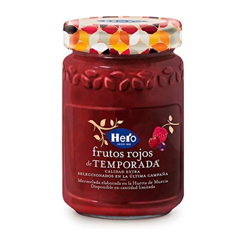 Hero mermelada frutos rojos temporada, 8 x 350g